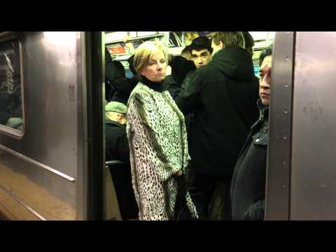 R62 3 train ride from 34th street penn station to Times Square 2/2/16