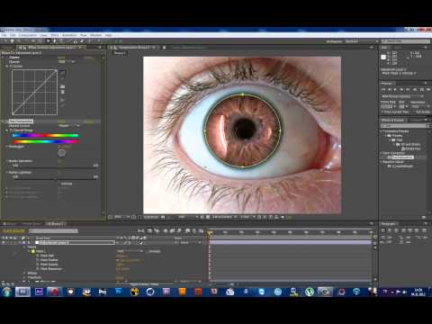 After Effects Change Eye Color (Pictures)
