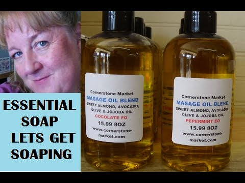 How to make Massage Oil with recipe