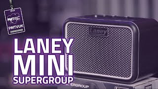 Laney Mini-superg 3w Battery Powered Guitar Amp - Supergroup Returns!