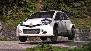 Toyota Yaris WRC - Test Italy 2015 Day 3