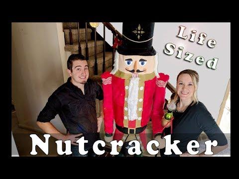 Budget DIY: Life Size NUTCRACKER