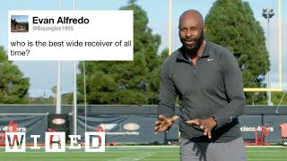 Jerry Rice Answers Football Questions From Twitter | Tech Support | WIRED