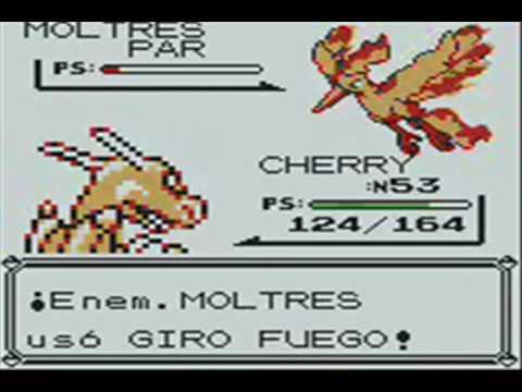Catching Moltres on Pokemon yellow/Capturando a Moltres