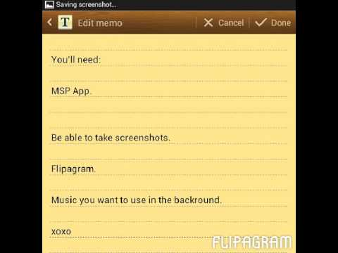 How to make MSP music videos on the app