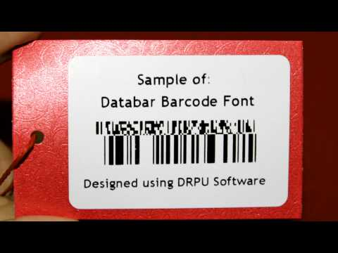 How to design and set printing settings to print designed barcodes
