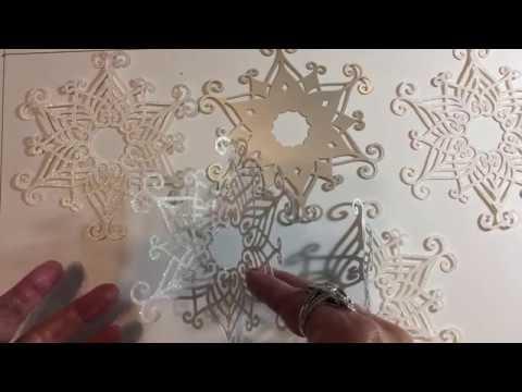 TCC Cricut 3D Snowflake Ornament Construction
