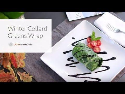 Winter Collard Green Wraps