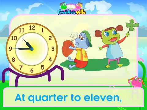 Telling the Time Song, English for Children