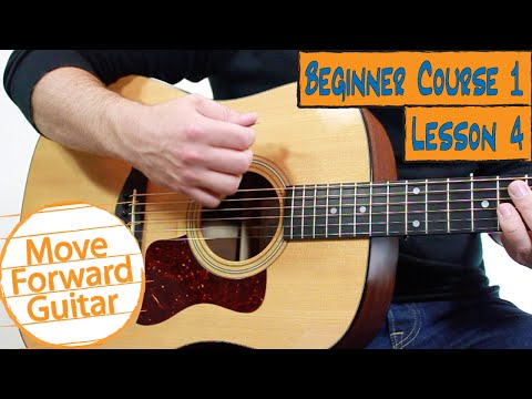 Beginner Guitar Course 1 - How to Pick & Strum