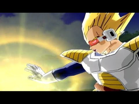 Dragon Ball Z Budokai 3 | SS2 Vegeta's Big Bang Attack | Xbox 360