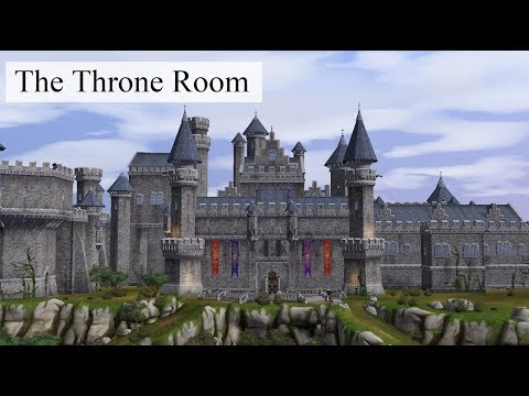The Sims Medieval and Chill – Furnishing the Throne Room (no voice)