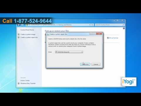 How to Create Windows® 7 System Repair Disc