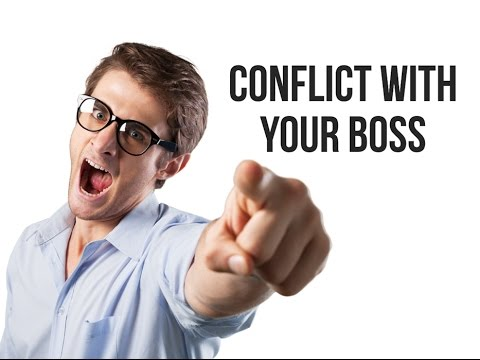 How to Manage Conflict with Your Boss