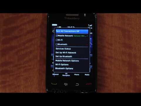 BLACKBERRY STORM 2 SETUP WIFI - Cellular Sales
