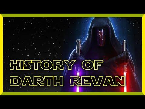 Star Wars History Of Darth Revan
