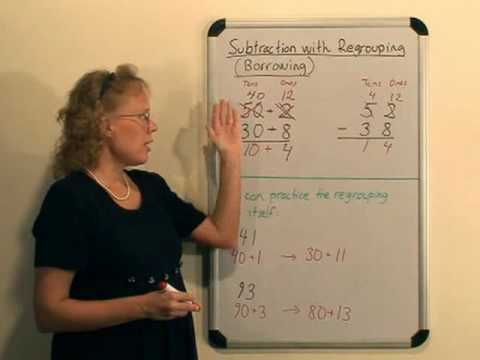 Teaching subtraction with regrouping