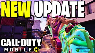 *NEW UPDATE* MELTDOWN MAP and WEAPON CHANGES in Call of Duty Mobile!