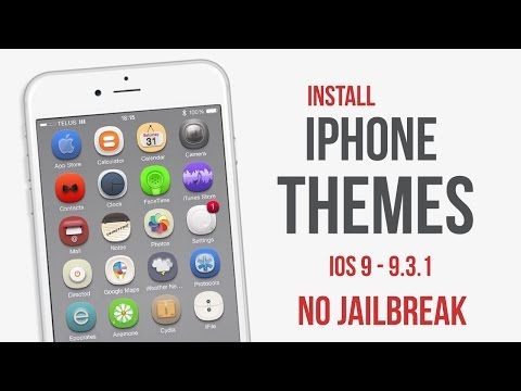Install Themes on IPhone IOS 9 - 9.3.3 no Jailbreak