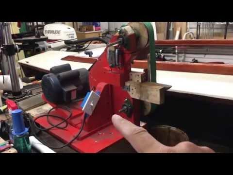 Homemade 2 x 72 belt grinder / knife grinder - Second Update