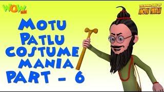 Motu Patlu - Costume Mania - Motu Patlu Compilation Part 6-As seen on Nickelodeon