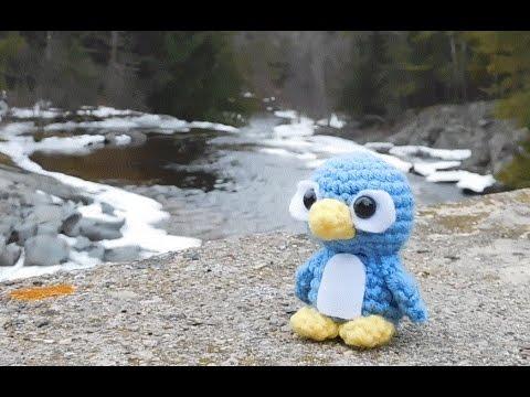 Amigurumi Crochet Penguin Tutorial
