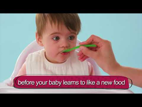 What to expect when introducing first foods