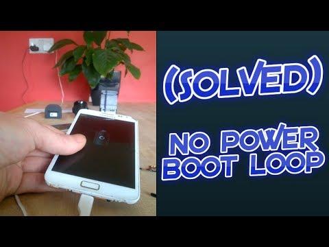(SOLVED) Samsung No power, Boot loop / Battery loop on startup.