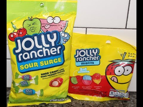 Jolly Rancher: Sour Surge Hard Candy & Misfits 2in1 Gummies Review