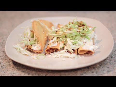 TACOS DORADOS DE PAPA | CocinandoConJuanita