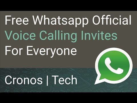 Enable Whatsapp Voice Calling Official Invites For Everyone Non-Root