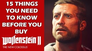 Wolfenstein 2: The New Colossus - 15 New Features You NEED To Know Before You Buy This Game