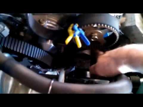 Timing belt replacement 2003 Chrysler Sebring 3.0L V6 water pump too Mitsubishi