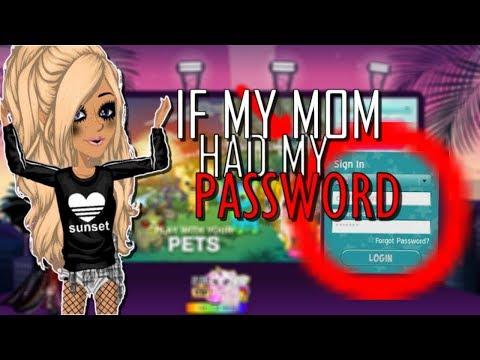 IF MY MOM HAD MY PASSWORD !!! ~ MSP
