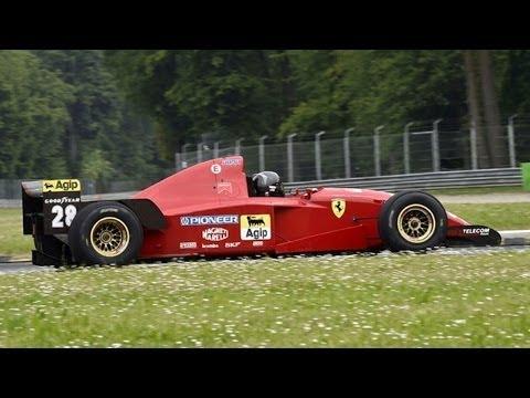 The Best Sounding F1 Engine: Ferrari 3.0L V12 - 1995 Ferrari 412 T2 Sound
