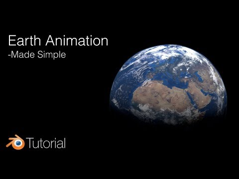 Blender Tutorial: Earth Animation (Cycles)