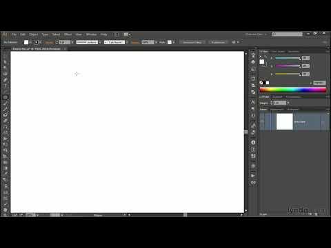 The new Anchor Point tool | Adobe Illustrator | lynda.com