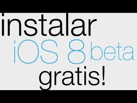 Instalar iOS 8 Beta 3 desde 7.1.2 GRATIS | Para iPhone iPod & iPad