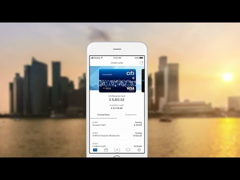 The New Citi Mobile® App Experience