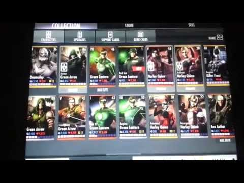 Injustice iOS Red Son Green Lantern STANDARD Completed