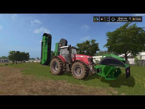 Farming Simulator 17 Timelapse #5 | South Mountain Creamery.