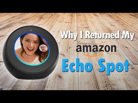 Why I Returned My Echo Spot