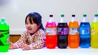 Learn Colors for Kids with Color Soda
