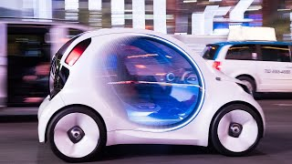 Mercedes-Benz Smart Vision EQ concept first ride