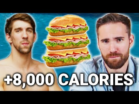 We Try To Eat Like Michael Phelps For A Day