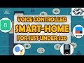 Home Automation using NodeMCU and Google Assistant | Voice Activated | Blynk, IFTTT, Arduino IDE