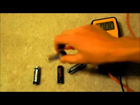 AA Battery Discharge Amperage Test, Which Type Is Best?
