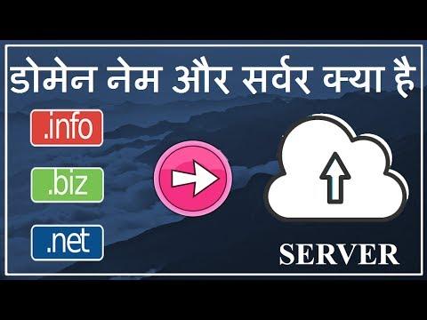 Domain Name Kya Hota Hai # Server Kya Hota Hai # Domain & Server Explained In Hindi
