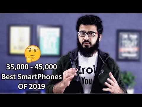 5 Best Smartphones in 2019 From 35,000 - 45,000 Pakistan