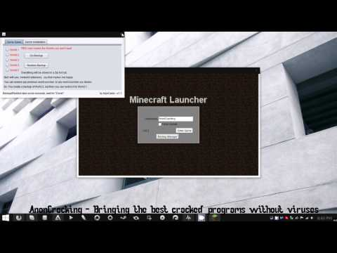Free Cracked Minecraft Launcher for Windows - Updateable - FREE DOWNLOAD!